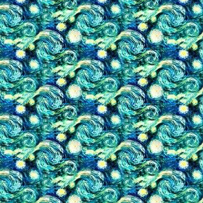 Starry Night Van Gogh {Sky Only - Small Version}