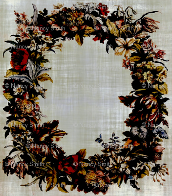 Antique floral