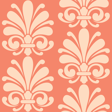 Autumn Flourish fabric by thepinkhome on Spoonflower - custom fabric