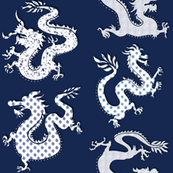 Imagined Dragons- navy blues