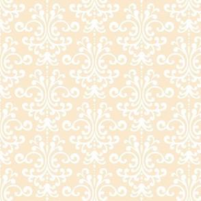 damask ivory