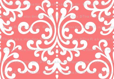 damask coral
