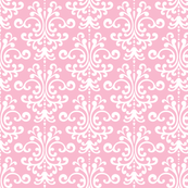 damask light pink and white