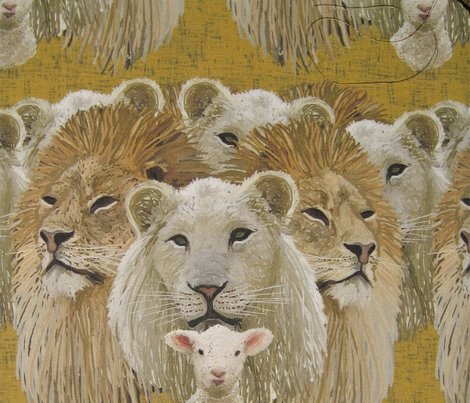 Lions led by a lamb