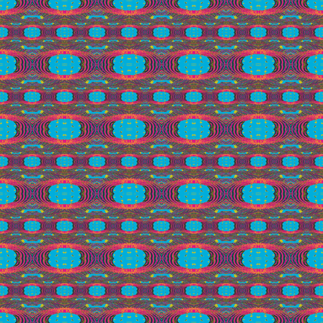 Neon Zen fabric by ravynscache on Spoonflower - custom fabric