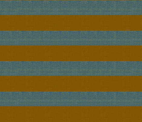 Gold Digger - denim and antique gold stripe fabric by materialsgirl on Spoonflower - custom fabric
