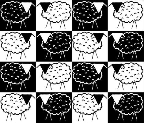 Sheep Checkerboard