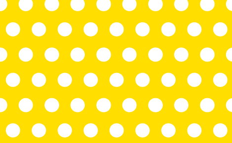 giant polka yellow