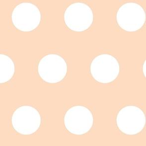 giant polka pink
