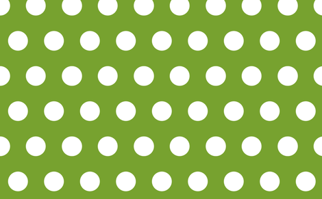 giant polka green fabric by myracle on Spoonflower - custom fabric