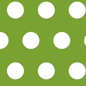 giant polka green