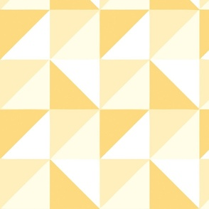square triangles yellow