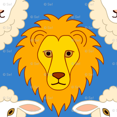 lion + lamb portraits