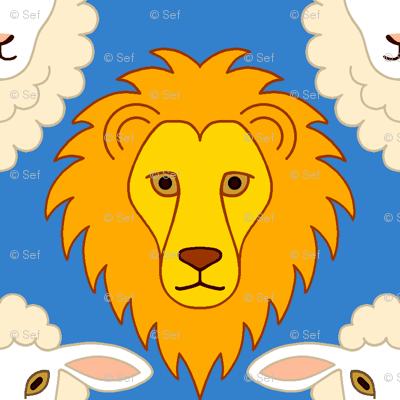 lion + lamb portraits