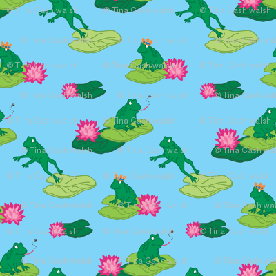 Frogs Make a Splash