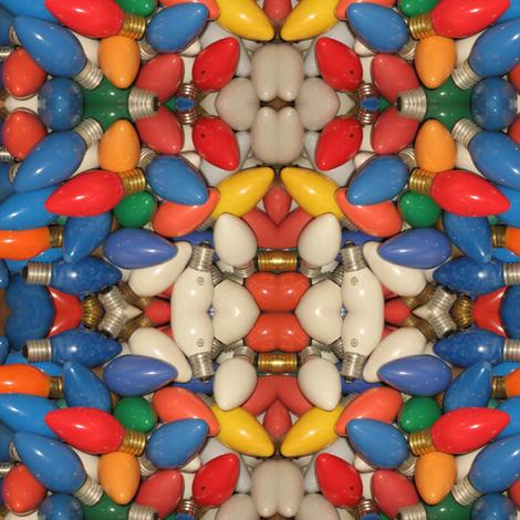 Vintage Christmas Bulbs fabric by 23burtonavenue on Spoonflower - custom fabric
