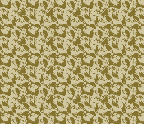1/6 Scale DPM Desert 2 Color fabric by ricraynor on Spoonflower - custom fabric