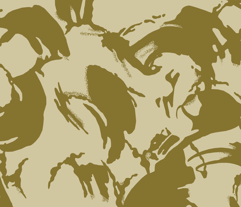 DPM Desert 2 Color fabric by ricraynor on Spoonflower - custom fabric