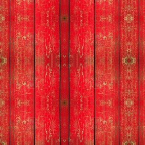 red-wood-panel-with-chipped-paint