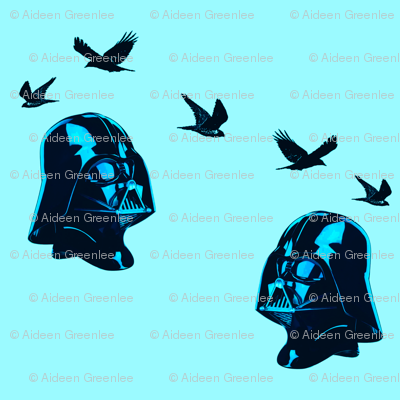 Darth Vader, avid bird watcher