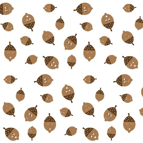 Rspoonflower_acorns_white_shop_preview