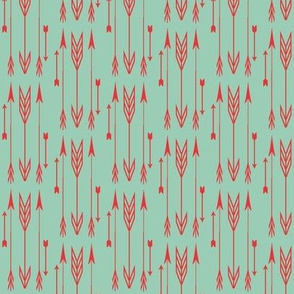 arrows jade & poppy