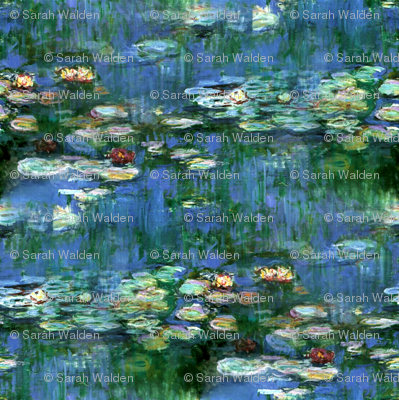 Claude Monet ~Water Lilies ~1916 ~ Small