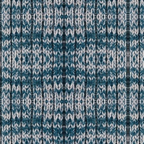 Blue Woolen Knit
