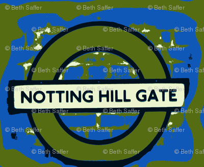 Notting Hill Blue and Green