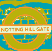 Notting Hill Aqua Orange Chartreuse