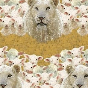Lambs led by a lion by Su_G