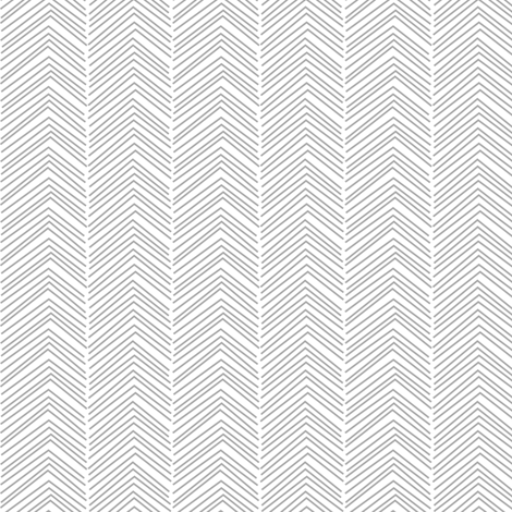 chevron ♥ grey and white fabric by misstiina on Spoonflower - custom fabric