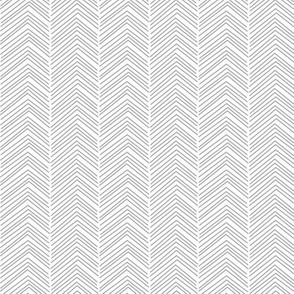 chevron ♥ grey