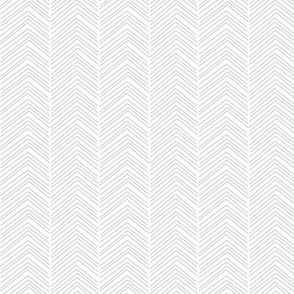 chevron ♥ light grey and white