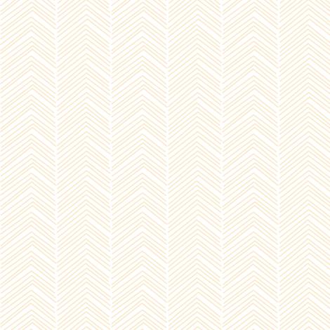 chevron ♥ ivory fabric by misstiina on Spoonflower - custom fabric