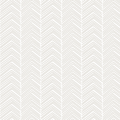 chevron ♥ beige and white