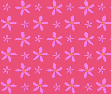 Petal Power fabric by arttreedesigns on Spoonflower - custom fabric