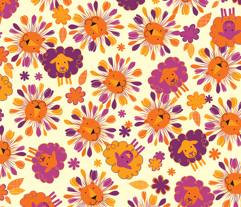 Vernal Equinox fabric by jennartdesigns on Spoonflower - custom fabric