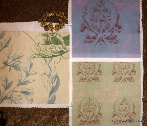 Floral Damask ~ Provencal 