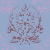 Floral Damask ~ St. Germaine