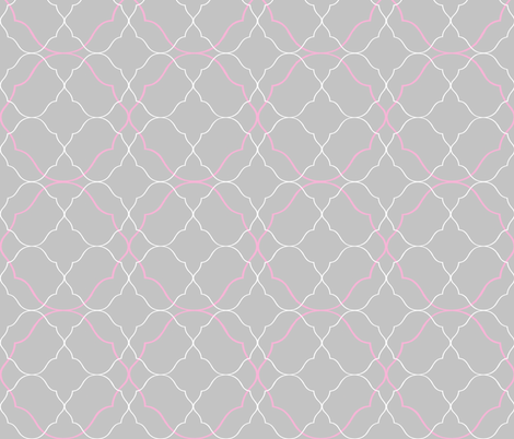 Oh, Gee! Ogee ~ Julia fabric by peacoquettedesigns on Spoonflower - custom fabric