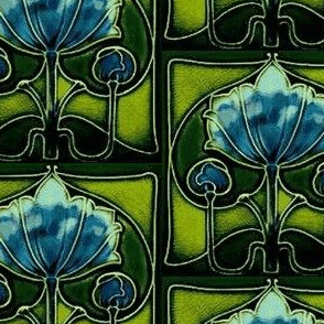 Artnouveau4-blue/green