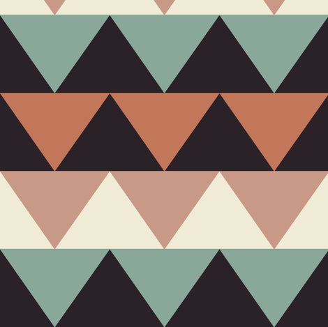 triangles - custom fabric by katarina on Spoonflower - custom fabric