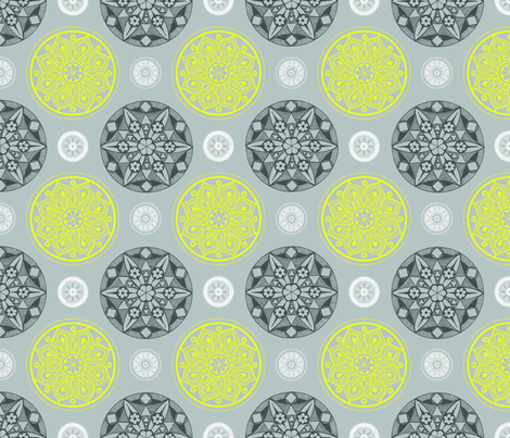 Medallion_fabric fabric by cameronhomemade on Spoonflower - custom fabric