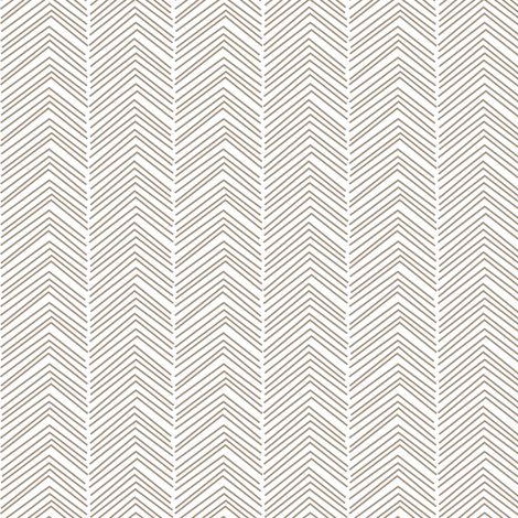 chevron ♥ tan and white fabric by misstiina on Spoonflower - custom fabric