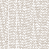 chevron  tan and white