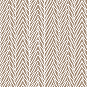 chevron  brown and white
