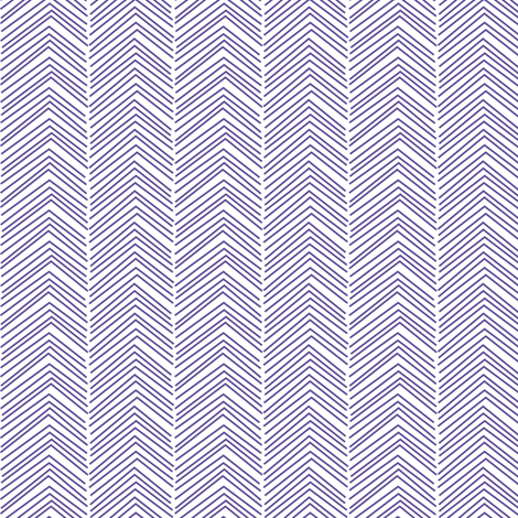 chevron ♥ purple fabric by misstiina on Spoonflower - custom fabric