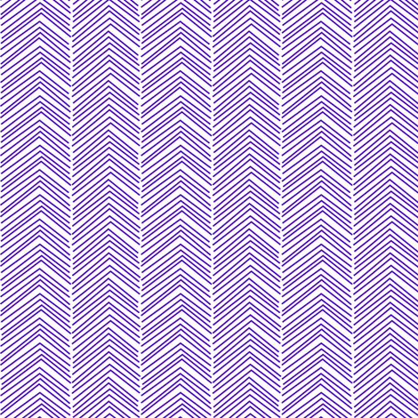 chevron ♥ purple and white fabric by misstiina on Spoonflower - custom fabric