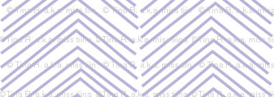 chevron ♥ light purple